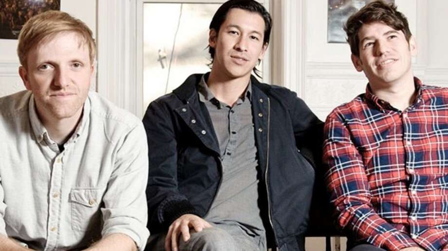 Kickstarter co-founders Charles Adler, Perry Chen and Yancey Strickler (L to R). Photo: Kickstarter