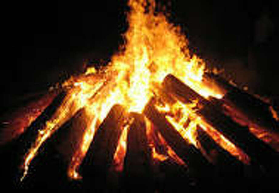 A bonfire will cap off the Walk of Honor in New Milford on Oct. 8. Photo: / Contributed Photo