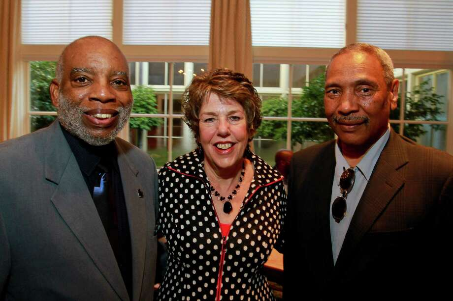 Charles Savage, from left, Lainie Gordon 