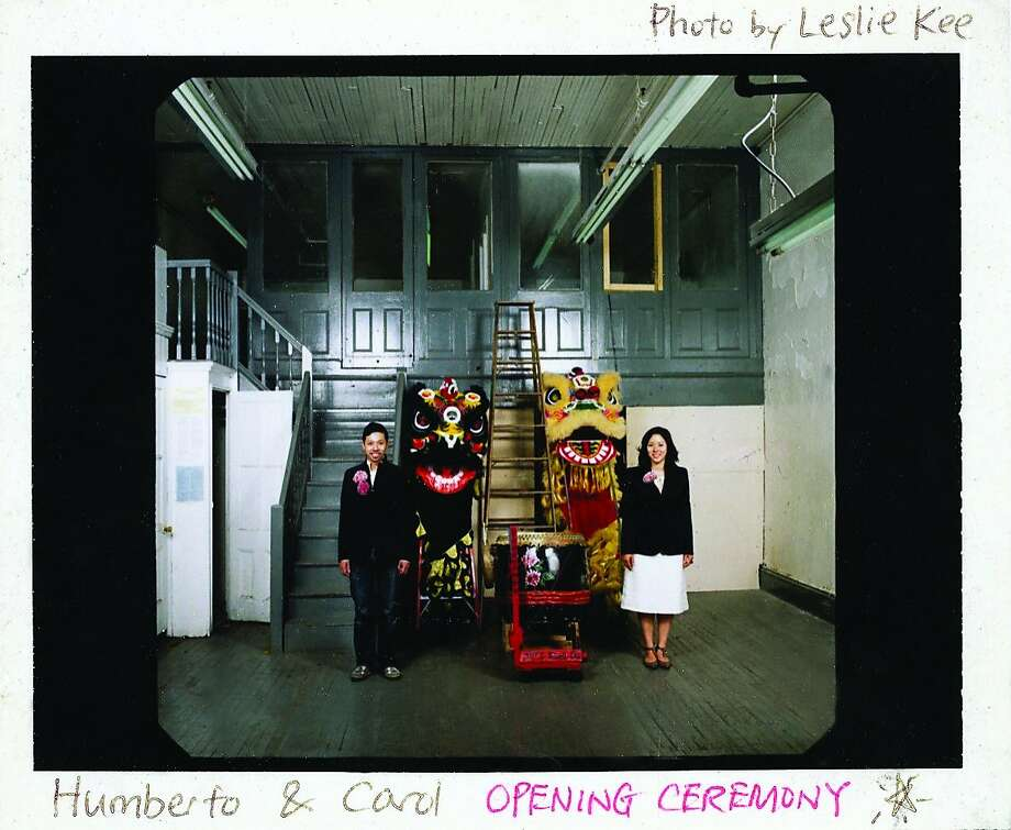 "Humberto Leon and Carol Lim, co-founders of Opening Ceremony in the space that became their first store. From the book ""Opening Ceremony,"" Rizzoli, 2012."