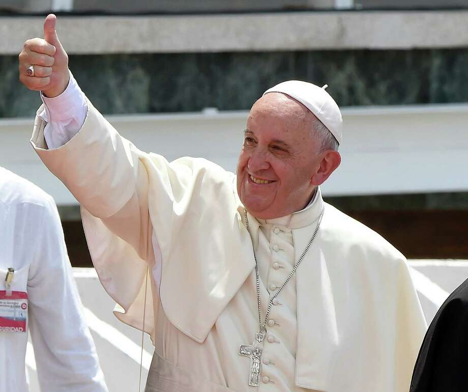 Pope Francis views on capitalism and the environment don't deserve the gushing verbal embrace that they have recieved in the Express-News. Photo: LUIS ACOSTA /AFP / Getty Images / Luis Acosta