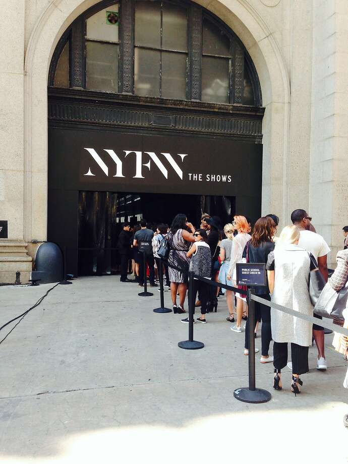 The Skylight Moynihan Station venue at New York Fashion Week. Via @tonybravosf Photo: Tony Bravo