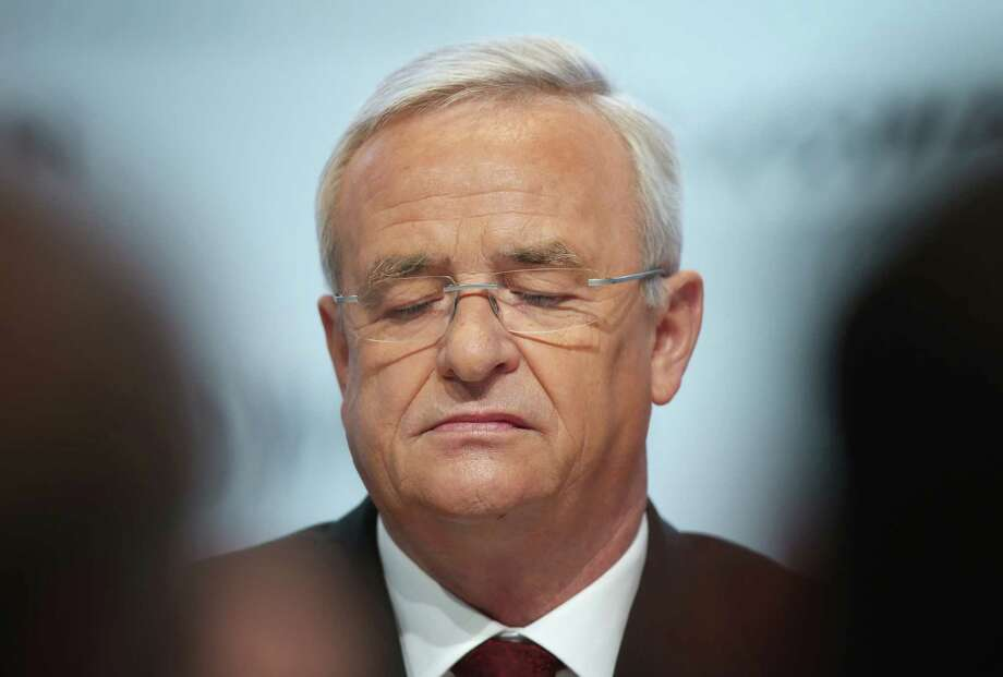 German news outlets Tuesday reported the firing of chief executive Martin Winterkorn is imminent, citing unidentified members of the company's board. Photo: Getty Images File Photo / 2015 Getty Images