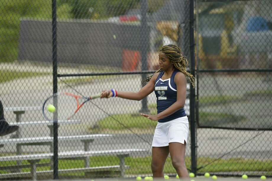 WCSU tennis player Carine Jacque'. Photo: WCSU Athletics / WCSU Athletics / News-Times Contributed