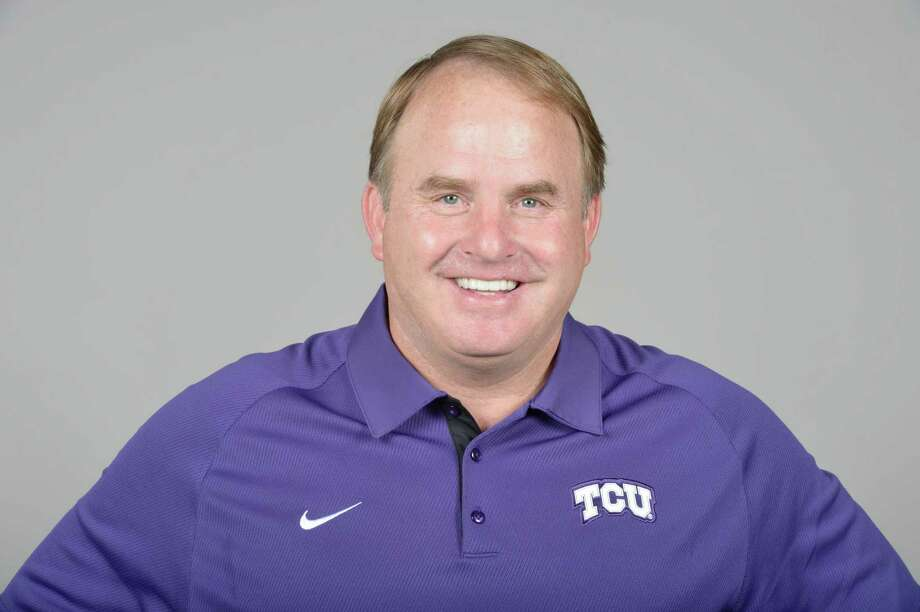 Gary Patterson Head football coach at the TCU  2012 school photo TCU Media Day in the Sammy Baugh Practice Facility on the TCU campus in Fort Worth, Texas on August 5, 2012. Photo: NA, Photographer / ONLINE_YES