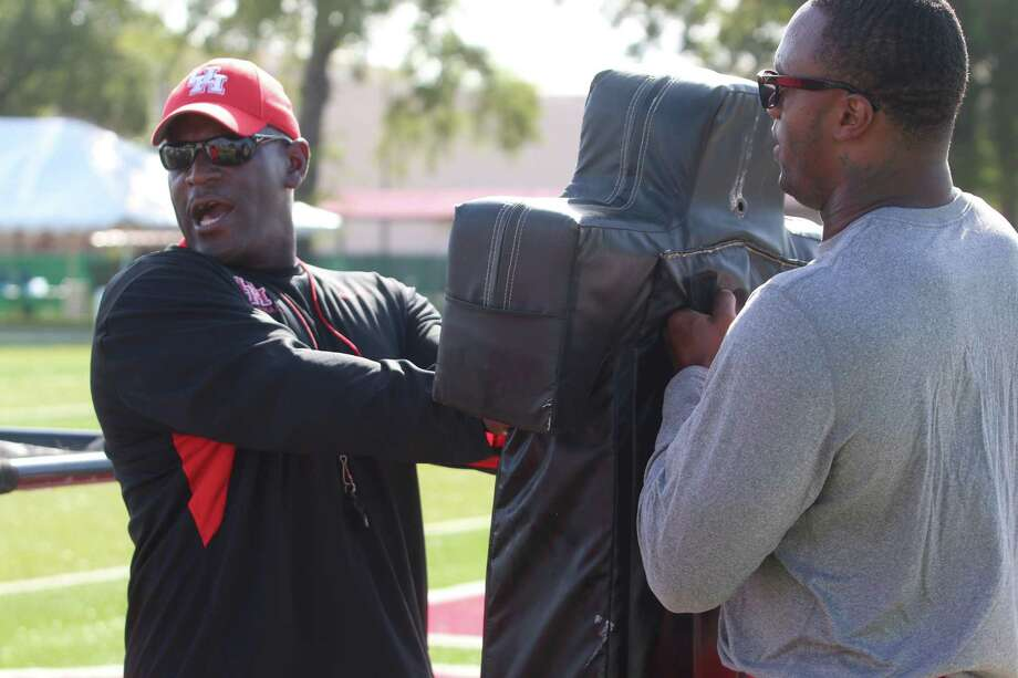 University of Houston defensive line coach Oscar Giles.