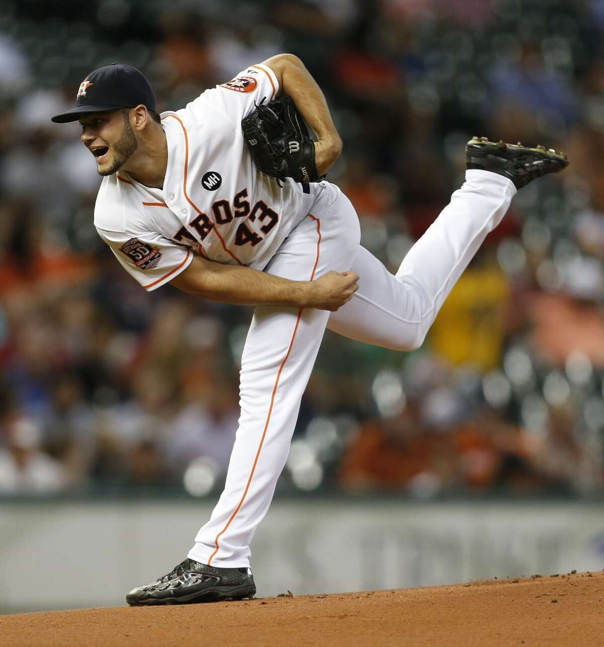 Lance McCullers will pitch in an extended spring training game Thursday in Kissimmee, Fla.