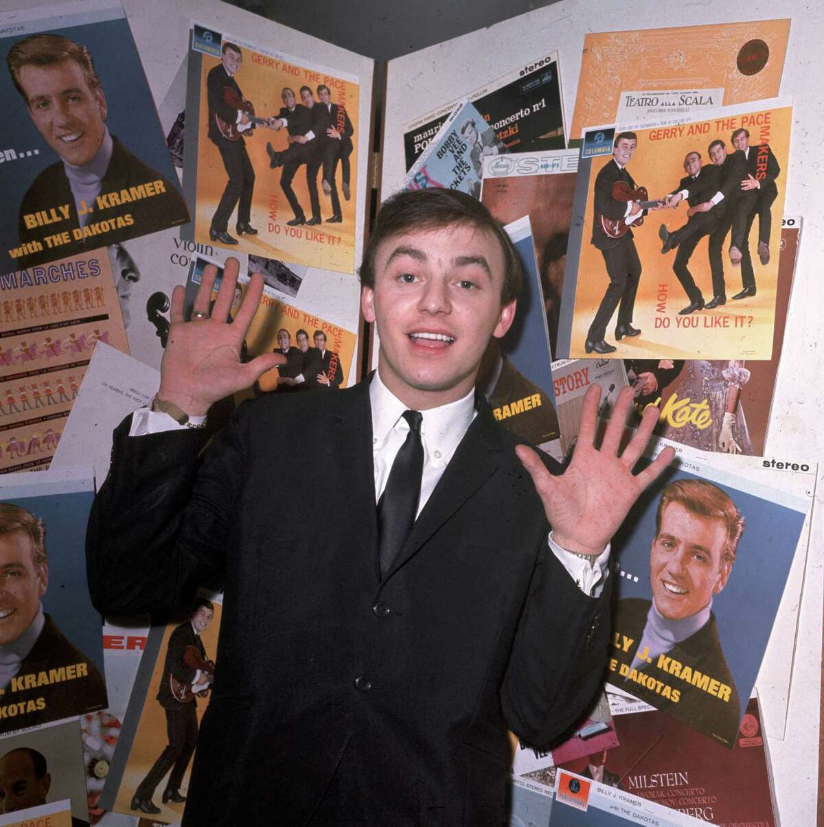 Singer Gerry Marsden of Gerry and the Pacemakers is 73.