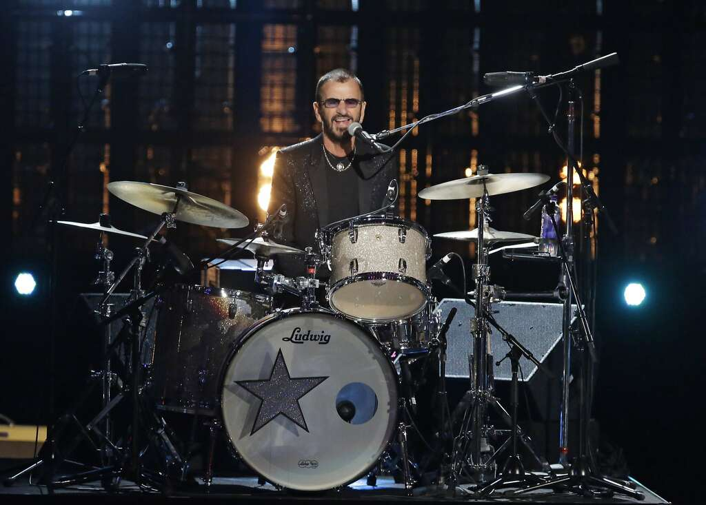 Ringo Starr. Ringo Star performs at the Rock and Roll Hall of Fame Induction Ceremony Sunday, April 19, 2015, in Cleveland. (AP Photo/Mark Duncan) Photo: Mark Duncan, AP