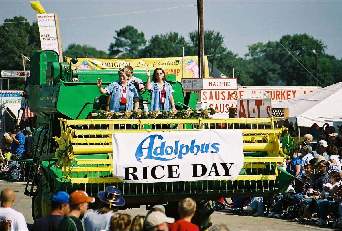 The Texas Rice Festival salutes the state's agricultural history.