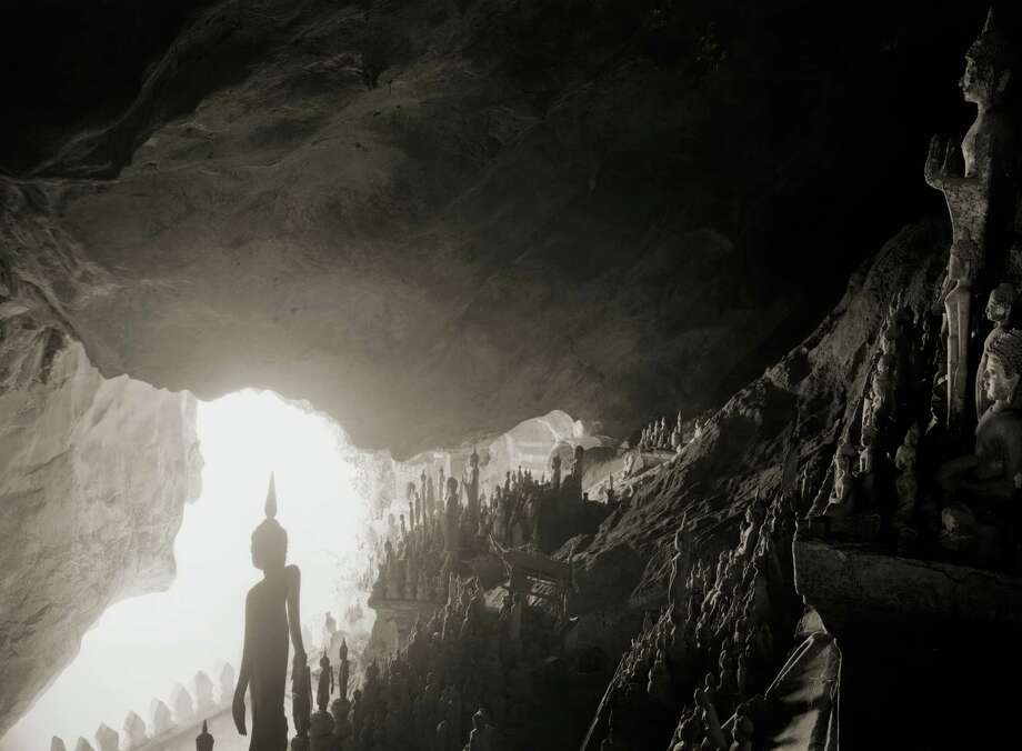 """""""Pal Ou Cave"""" is among photographs by Kenro Izu featured in """"Songs of Lao"""" at Booker-Lowe Gallery. Photo: Kenro Izu"""