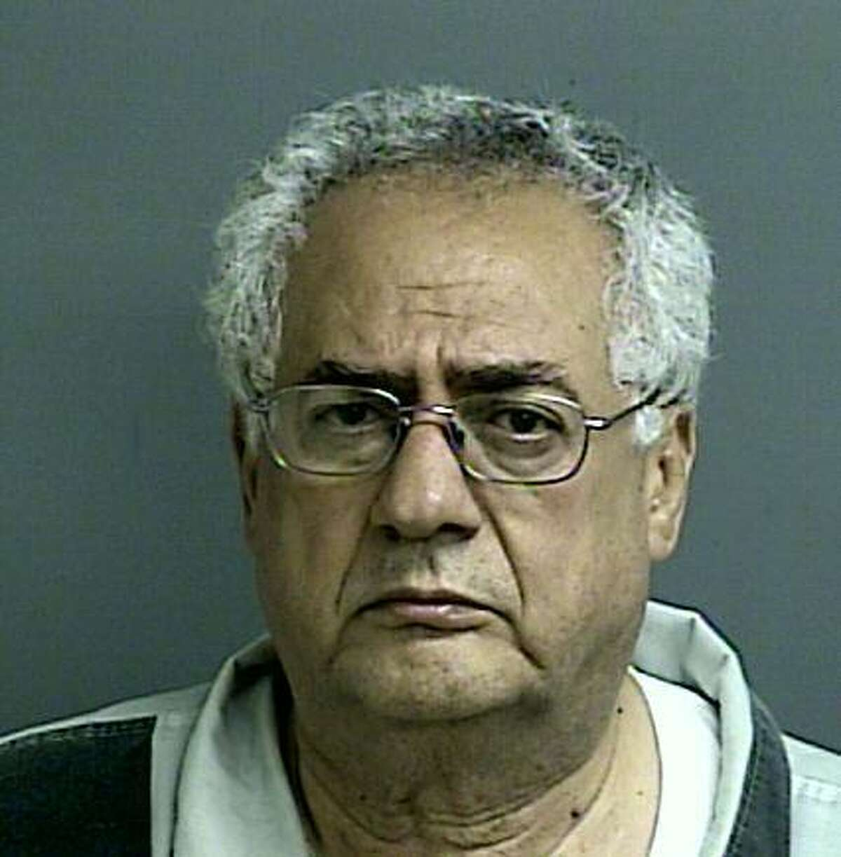 Dr. Rezik Saqer was arrested Tuesday night, Sept. 22, 2015, in connection with a car crash near Lake Conroe that left four members of a family dead over the weekend.