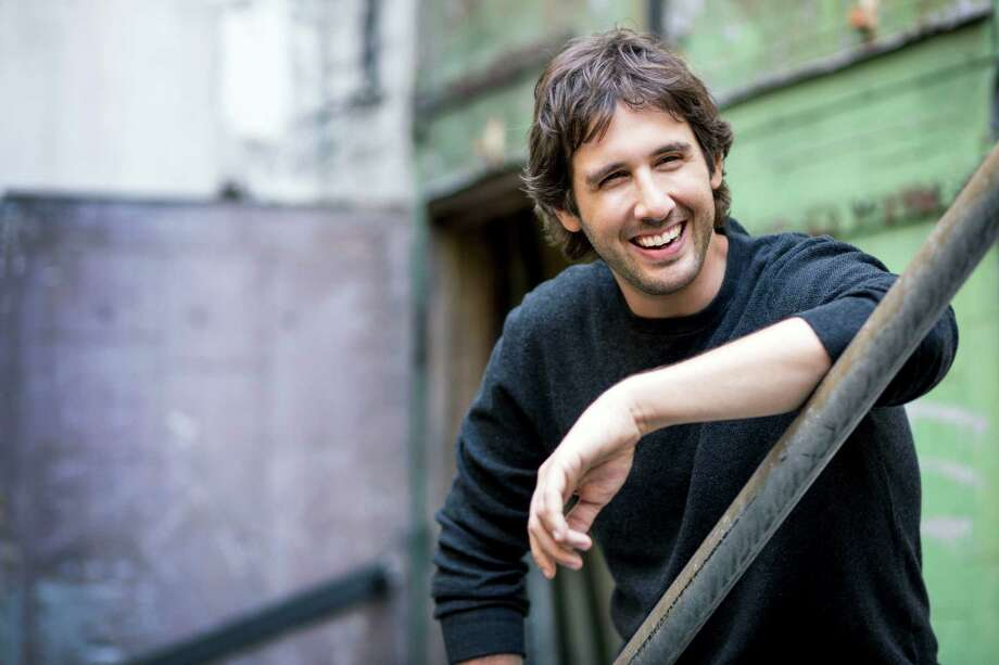 Josh Groban performs at Toyota Oakdale Theatre in Wallingford ...