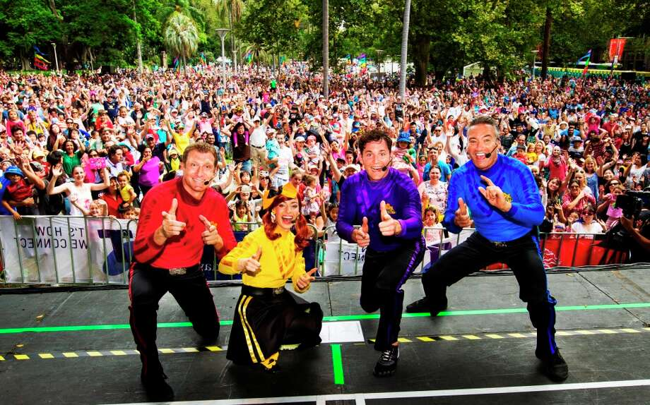 "The Wiggles will perform at Stamford's Palace Theatre on Tuesday, Sept. 29, as part of its ""Rock & Roll Preschool"" tour. Photo: Contributed Photo"