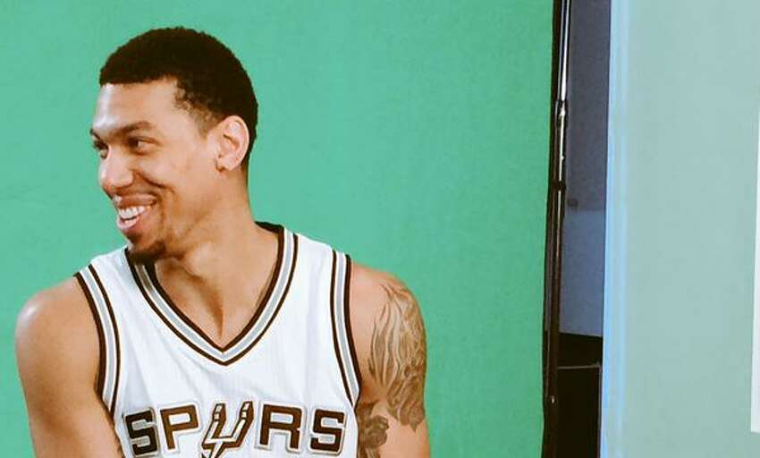 Candid, behind-the-scenes photos of Danny Green...