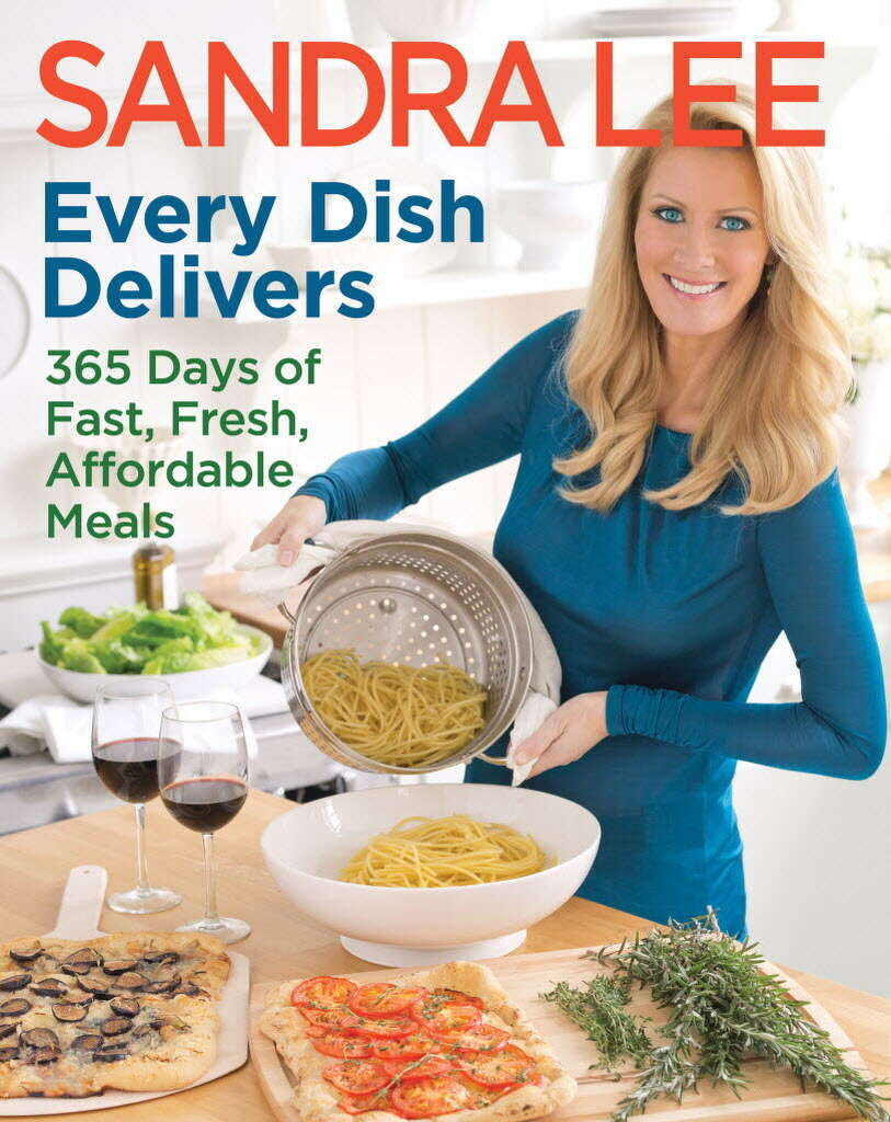 Cancer free sandra lee coming to proctors with message of early this publicity photo provided by courtesy of sandra lee shows the cover of her cookbook forumfinder Gallery