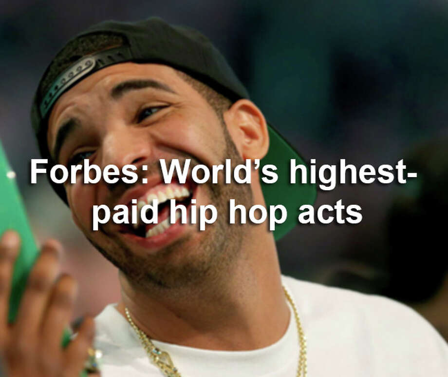 These artists and moguls shape our cultural landscape and rake in millions of dollars. Here are the top 10 hip hop acts making the most cash. Photo: Ronald Martinez, Getty Images / 2014 Getty Images