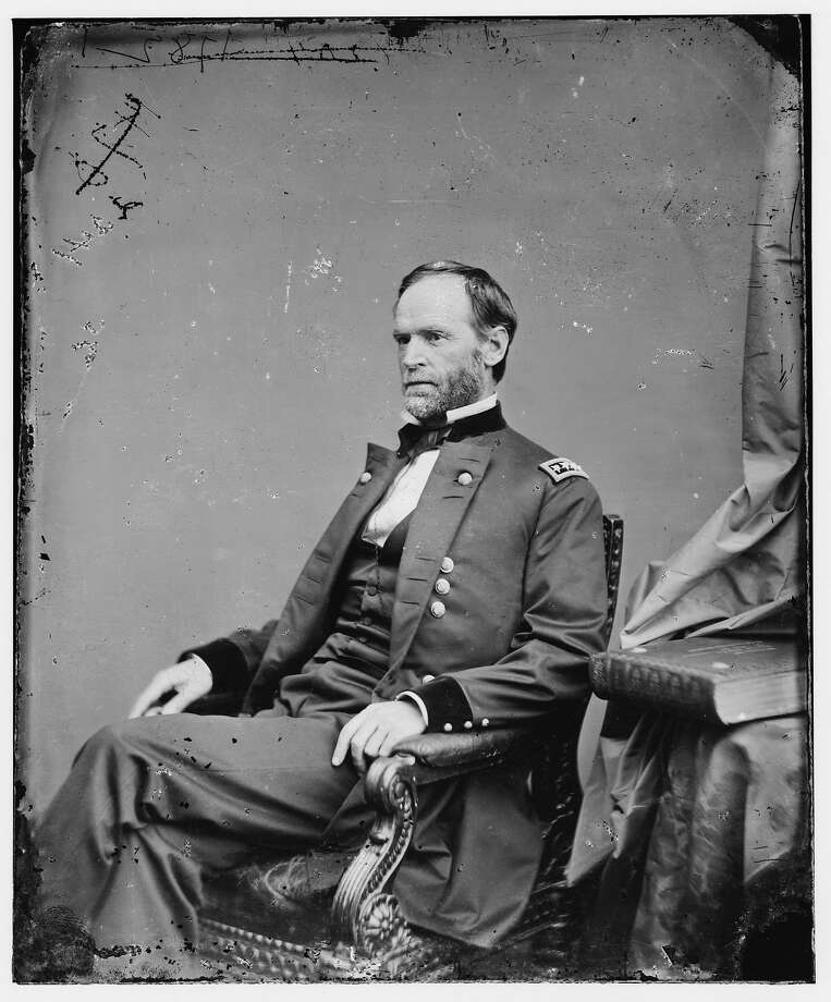 Gen. William Tecumseh Sherman lived at 802 Montgomery St. Photo: Associated Press