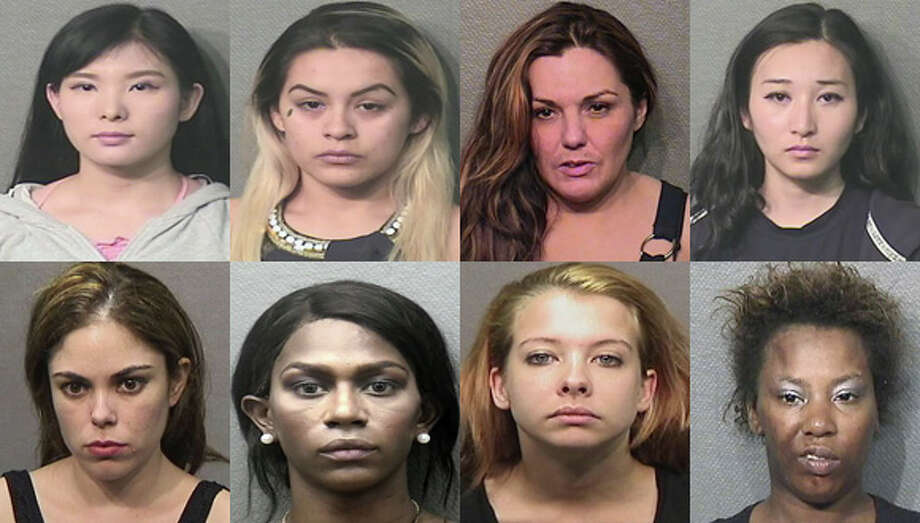 The above suspects were among those arrested and charged as part of a September prostitution sting by the Houston Police Department. Photo: Houston Police Department