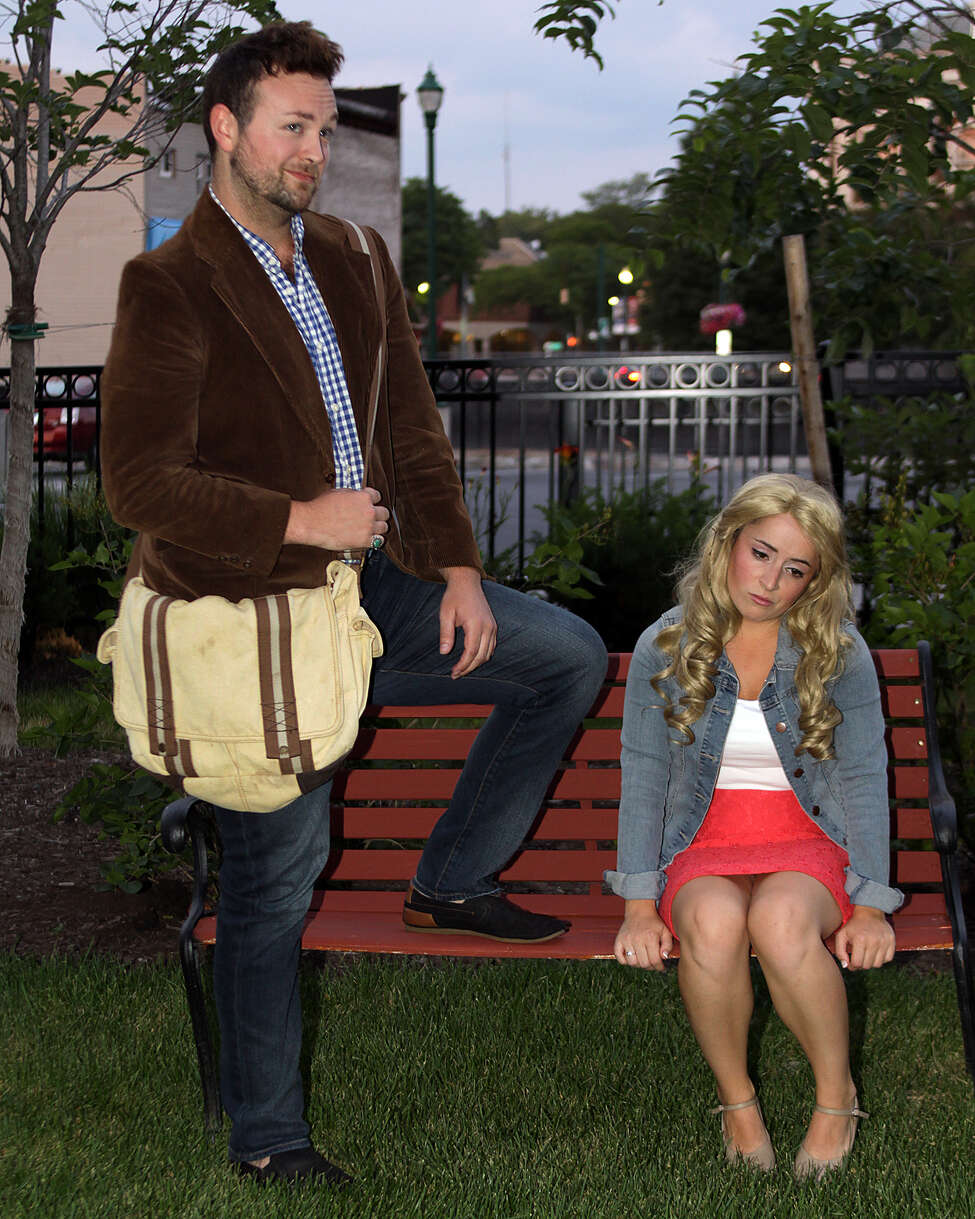 Brendan Brierley and Christine Meglino (as Emmett and Elle)