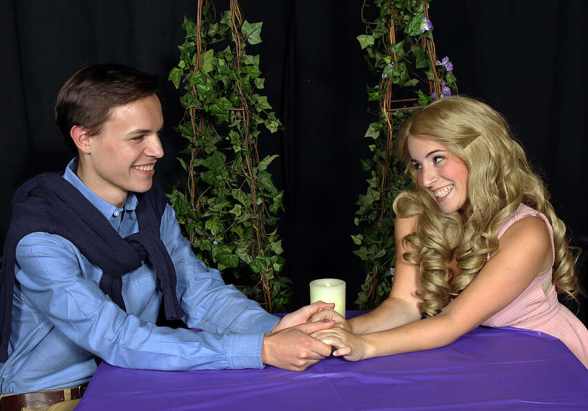 Connor Olney and Christine Meglino (as Warner and Elle)