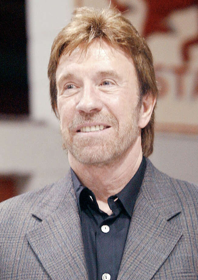 "**FILE** A television series based in Hawaii starring Chuck Norris, shown in Tyler, Texas, in this Oct. 10, 2002, file photo, could still make it on the air even though NBC has pulled out of the project, the actor's brother and show's producer, Aaron Norris, said. ""The Guard"" in which Norris was to portray a U.S. Coast Guard commander, was to begin filming 22 episodes on Oahu in July. (AP Photo/Tyler Morning Telegraph, Tom Worner, File) Photo: TOM WORNER / TYLER MORNING TELEGRAPH"