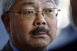 San Francisco Mayor Ed Lee visits Project Homeless Connect at Bill Graham Civic Auditorium in San Francisco, Calif., on Wednesday, September 23, 2015.
