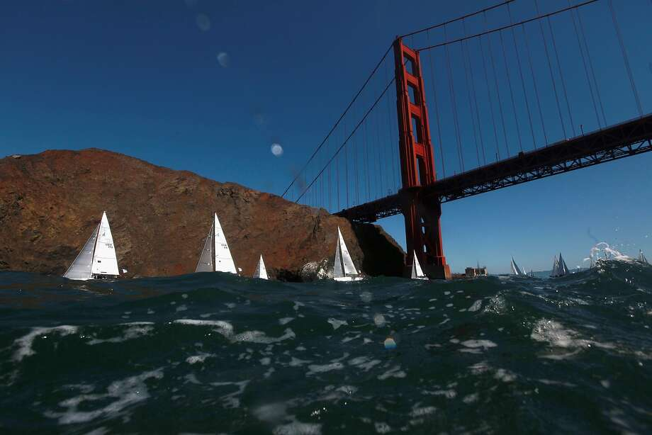 A new study shows San Francisco Bay is hundreds of times more contaminated than the Great Lakes with tiny plastic particles. Photo: Ezra Shaw, Getty Images