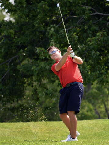 Steve Quillinan Jr., of Troy during the final round of the Capital Stroke Play, the signature event of the Capital Region Amateur Golf Association at Schuyler Meadows Club Saturday August 8, 2015 in Colonie, NY.  (John Carl D'Annibale / Times Union) Photo: John Carl D'Annibale / 00031865A