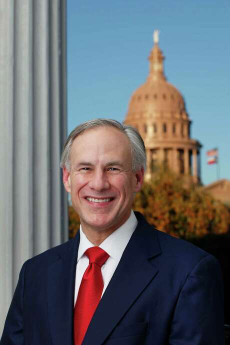 Gov. Greg Abbott addressed traffic problems in a speech in Brazoria County. Photo: Courtesy /
