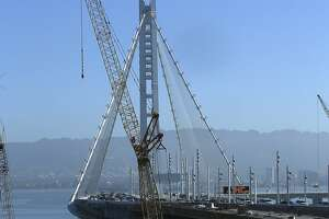 Bay Bridge worker sues over hangman's noose, rope incidents - Photo