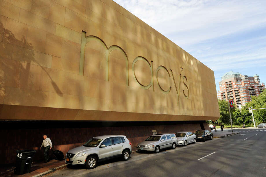 Some in Stamford would like to see the exterior of Macy's at downtown's Stamford Town Center look more welcoming. Photo: Jason Rearick / Hearst Connecticut Media / Stamford Advocate
