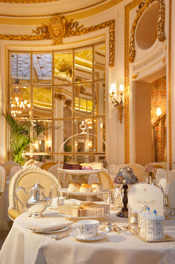 "Plan on booking three months in advance at the Ritz, home of the most celebrated afternoon teas in London. ""This is something special and gorgeous. It's not reality. It's like a trip to a dream world,  pastry chef Hideko Kawa says. Photo: HANDOUT, STR / Bloomberg News"