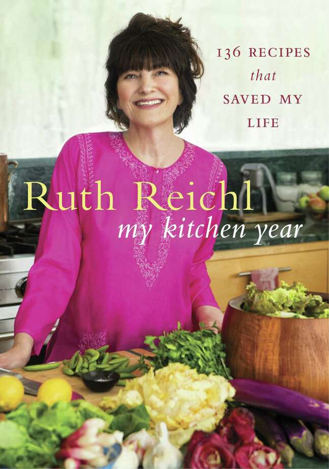 "This image provided by Random House on Sept. 5, 2015 shows the cover for the book ""My Kitchen Year"" by Ruth Reichl. Gourmet magazine's former editor-in-chief writes of the months after the publication was shut down after nearly 70 years. (Random House via AP)  ORG XMIT: MER2015091516151672 / Random House"