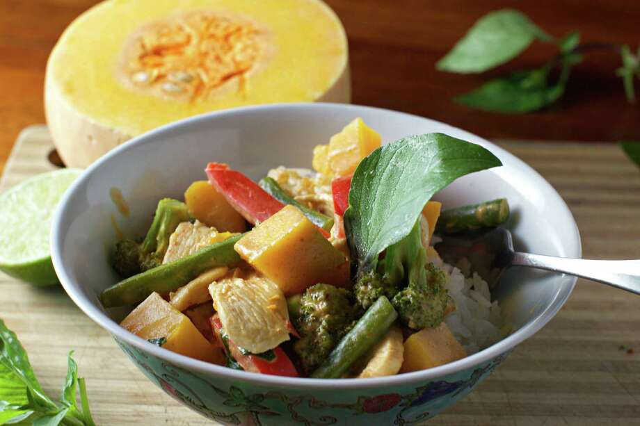 Dan's Panang-Style Pumpkin Curry. (Dan McKay/Pittsburgh Post-Gazette/TNS) ORG XMIT: 1173927 Photo: Dan McKay / Pittsburgh Post-Gazette