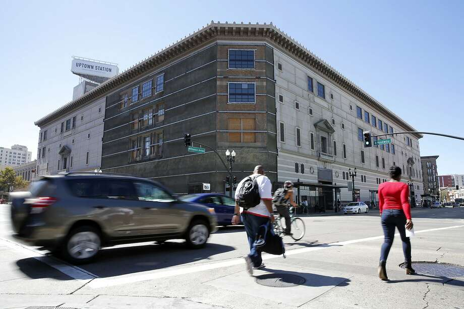 The Uptown Station building will be the new location of Uber headquarters in Oakland, California, the company announced Wednesday, Sept. 23, 2015. Photo: Connor Radnovich, The Chronicle