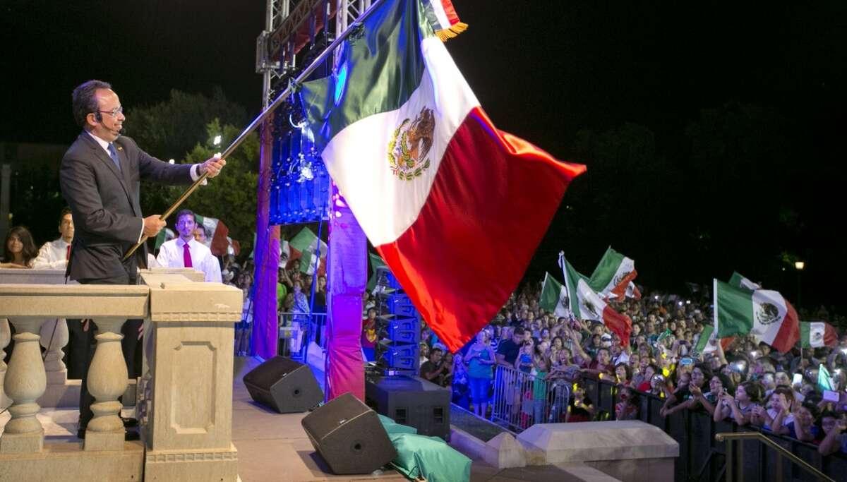 Celebration of El Grito.