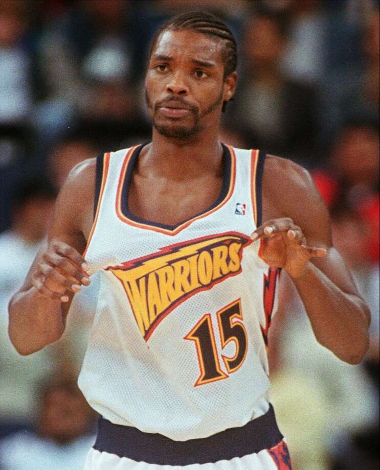 Warriors forward Latrell Sprewell once choked his coach. Where is that spirit now? Stephen Curry doesn't have it. Photo: Sam Morris