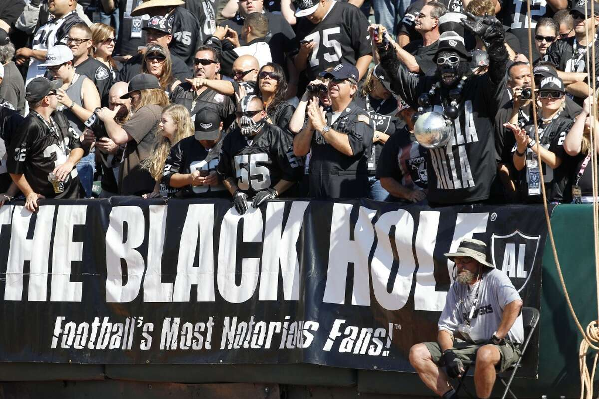 32. Oakland The Black Hole is just that for the Raiders, who can't get out of that dump fast enough. It's the smallest and worst stadium in the NFL and for the last decade, the home team has determinedly played down to the level of its shabby environs.