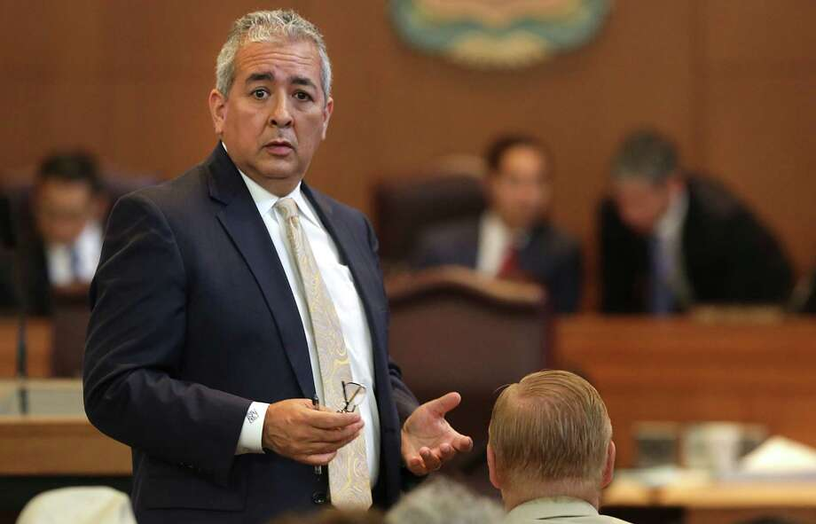 Robert Puente, president and CEO of the San Antonio Water System, said the utility is short of meter readers. Photo: Bob Owen /San Antonio Express-News / ©2013 San Antonio Express-News