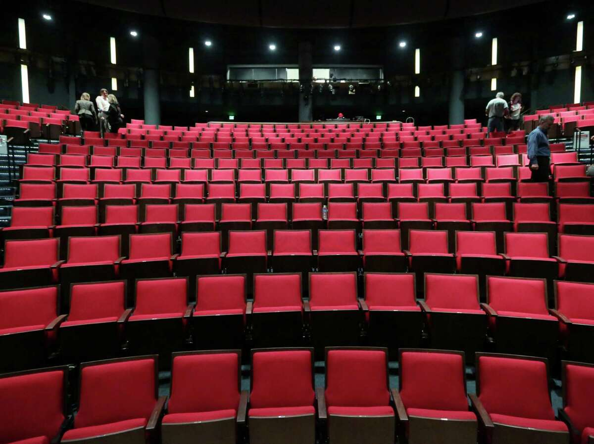 The Hubbard Theatre in the Alley Theatre is seen Wednesday, Sept. 16, 2015, in Houston. The theatre will now have 774 seats, and an extended stage will create a better level of intimacy for guests. ( Jon Shapley / Houston Chronicle )