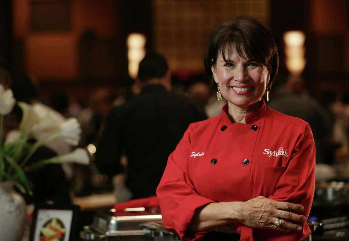 Sylvia Casares, of Sylvia's Enchilada Kitchen. Casares has decided to close her oldest restaurant at 12637 Westheimer to concentrate on her two other restaurants at Woodway and Eldridge Parkway.
