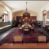 Great Houses 0531 The Dining Room Of The King Ranch House Can Seat As Many As