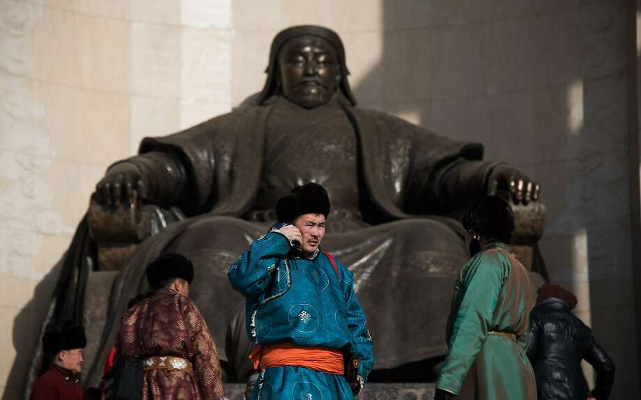 You're better off borrowing money today than any other time, including Genghis Khan's heyday. Photo: Johannes Eisele, AFP / Getty Images