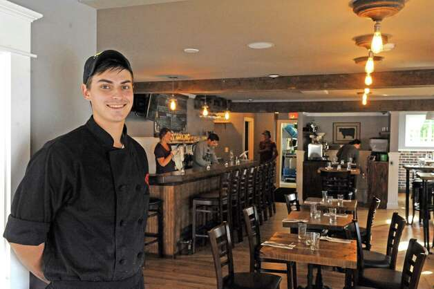 Chef Chris Torncello at the Twisted Vine Wine & Tap on Tuesday Sept. 22, 2015 in Delmar, N.Y.  (Michael P. Farrell/Times Union) Photo: Michael P. Farrell / 00033445A