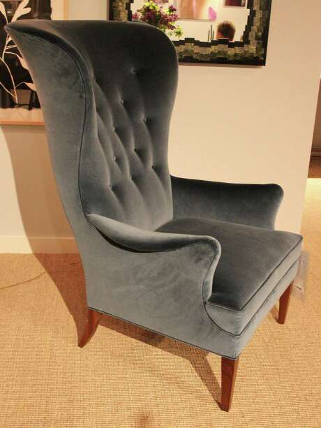Susan Hable's wing chair is part of her new collection for Hickory Chair  in High Point, North Carolina, site of the Spring Furniture Marekt. Photo: Patricia Sheridan / Tribune News Service / Pittsburgh Post-Gazette