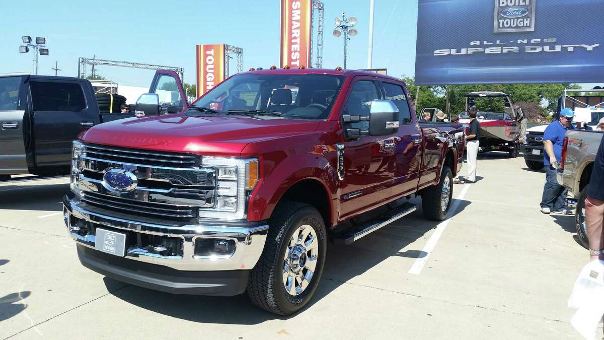 2017 Ford Super Duty The 2017 Ford Super Duty, which will go on sale about a year from now, is the model's first