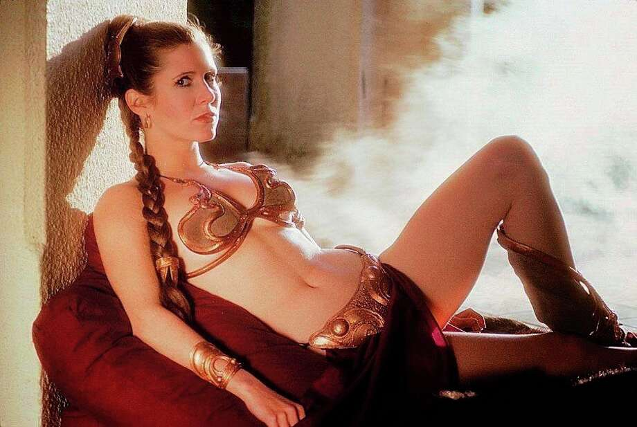 "Carrie Fisher in ""Return of the Jedi."" Photo: Courtesy Photo"