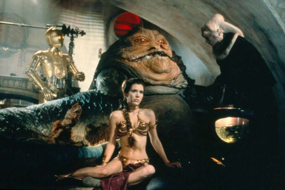 """Carrie Fisher in """"Return of the Jedi."""" Photo: Courtesy Photo"""