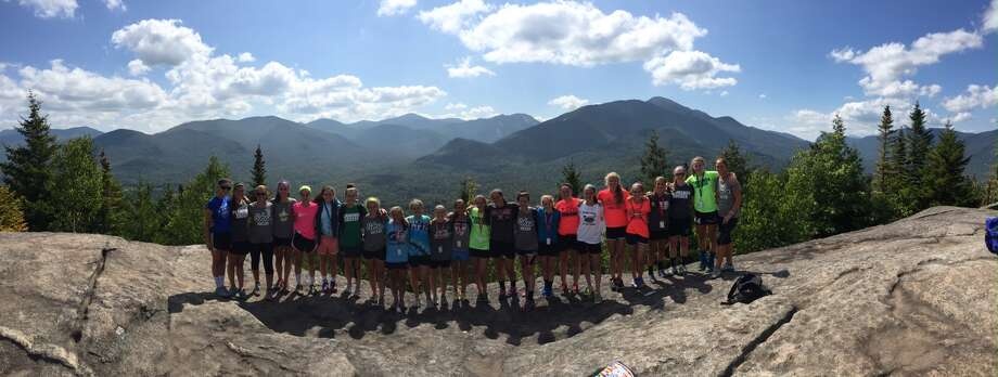 The Shen girls' soccer team visits Lake Placid for a preseason bonding trip. (Photo courtesy Holli Mulholland)